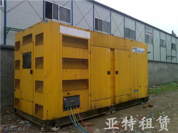 出租发电机组案例