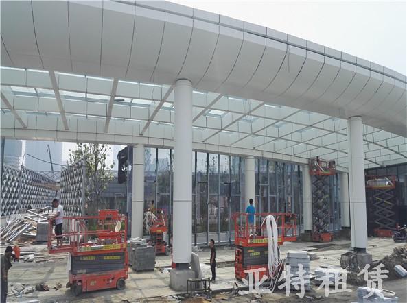 剪叉平台-建筑施工